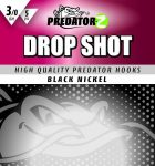 PZ Drop Shot horog #1/0, 5db,