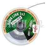 CZ Elõkezsinór - 3x3 (barna), 25lb, 20m