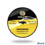 SBS Masterpiece Monofilament Line fluo yellow 1750 0.24